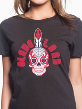 Load image into Gallery viewer, Cleveland Sugar Skull Women's T Shirt