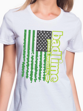 Load image into Gallery viewer, Badlime Flag Women's T Shirt