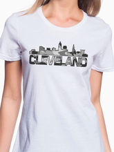 Load image into Gallery viewer, Cleveland Camo Skyline Women's T Shirt