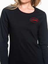 Load image into Gallery viewer, VMS Pocket Logo Long Sleeve Women's T Shirt