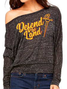 Cleveland Basketball Women's Off the Shoulder Top