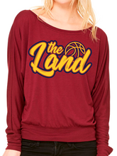 Load image into Gallery viewer, Cleveland Basketball Women's Off the Shoulder Top