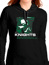 Load image into Gallery viewer, Nordonia Knights Baseball N Lightweight Long Sleeve Hooded T-Shirt