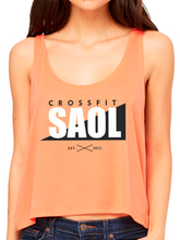 Load image into Gallery viewer, CrossFit SAOL Women's Flowy Boxy Tank