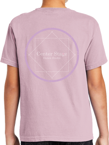 Center Stage Distressed Youth Short Sleeve T Shirt