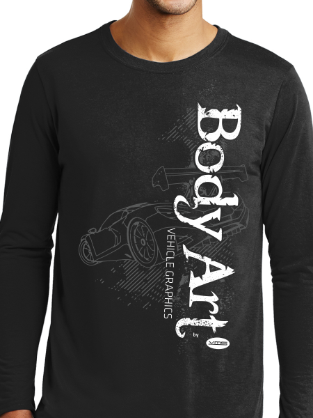 Body Art Car Unisex Long Sleeve T Shirt