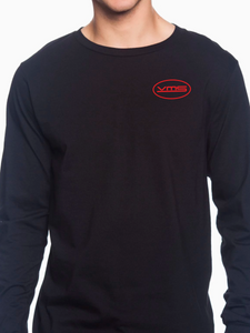 VMS Pocket Logo Long Sleeve Unisex T Shirt