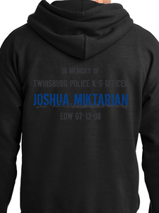 In Memory of Officer Miktarian Unisex Pullover Hooded Sweatshirt