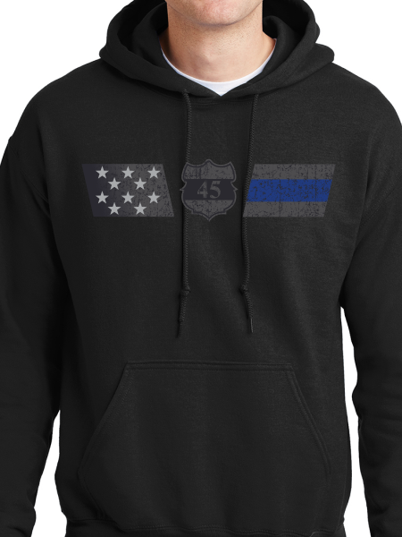 Officer Miktarian Flag Unisex Pullover Hooded Sweatshirt