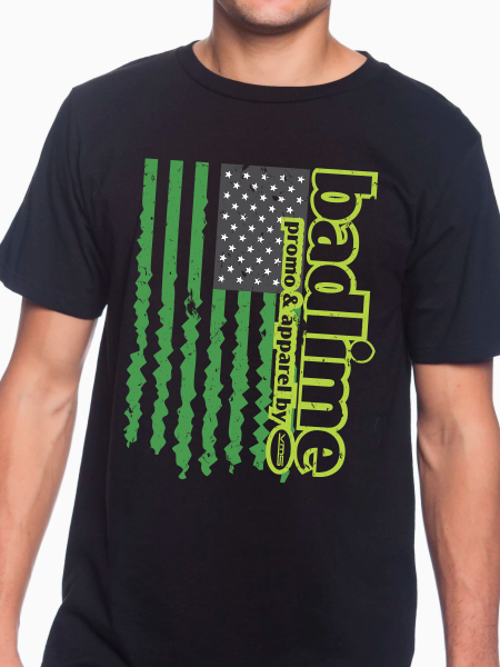 Badlime Flag Unisex T Shirt