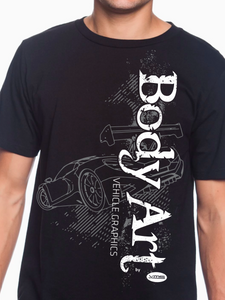 Body Art Car Unisex T Shirt
