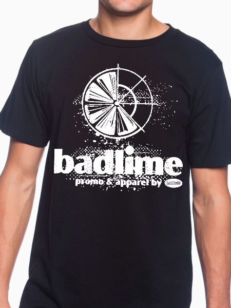 Badlime Distressed Unisex T Shirt