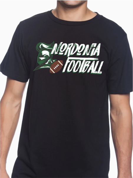 Nordonia Football Brush Unisex T Shirt