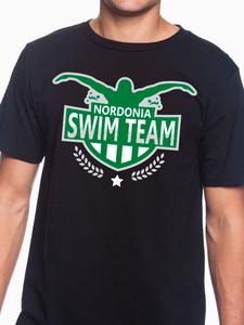 Nordonia Badge Swim Team Unisex T Shirt