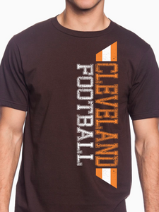 Cleveland Football Distressed Unisex T Shirt