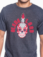 Load image into Gallery viewer, Cleveland Sugar Skull Unisex T Shirt