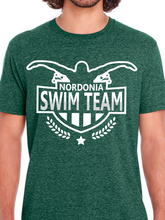 Load image into Gallery viewer, Nordonia Badge Swim Team Unisex T Shirt
