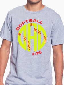 Nordonia Softball Dad Custom T Shirt
