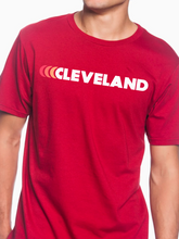 Load image into Gallery viewer, Cleveland Red Fade Unisex T Shirt