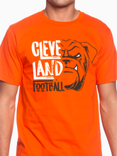 Load image into Gallery viewer, Distressed Cleveland Football Icon Unisex T Shirt