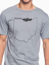 Load image into Gallery viewer, Cleveland Skyline Unisex T Shirt