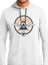 Load image into Gallery viewer, Men's Moto Gear Drawstring Hoodie