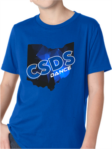 CSDS Dance Ohio Short Sleeve T Shirt