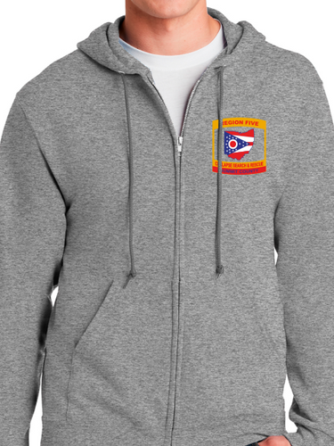 Region 5 Collapse Search & Rescue Zip Up Hoodie