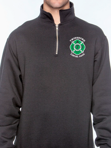 St. Patrick's Day Unisex Quarter Zip Sweatshirt