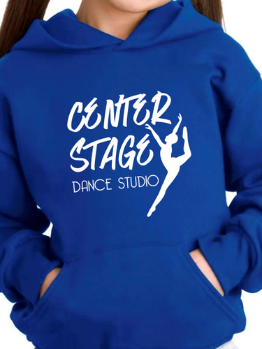 Center Stage Dance Studio Script Youth Hoodie