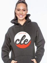 Load image into Gallery viewer, Unisex CLE The Land Hooded Pull Over Sweatshirt