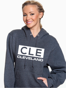 Unisex Cleveland Block Pullover Hoodie