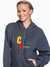 Load image into Gallery viewer, Unisex CLE Stagger Pullover Hoodie