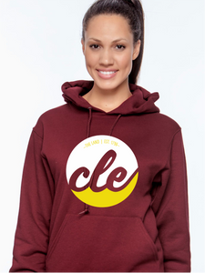 Unisex CLE The Land Hooded Pull Over Sweatshirt