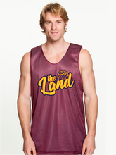 Load image into Gallery viewer, Unisex The Land Script Mesh Tank