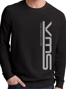 VMS Vertical Washed Terry Champ Crewneck Sweatshirt