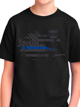 Load image into Gallery viewer, In Memory of Officer Miktarian Youth T Shirt