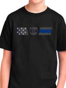 Officer Miktarian Flag Youth T Shirt