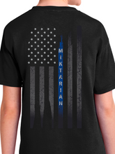 Load image into Gallery viewer, Officer Miktarian Flag Youth T Shirt