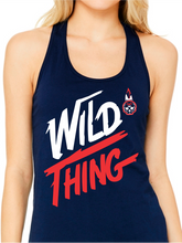 Load image into Gallery viewer, Wild Thing Indians Women's Jersey Racerback Tank
