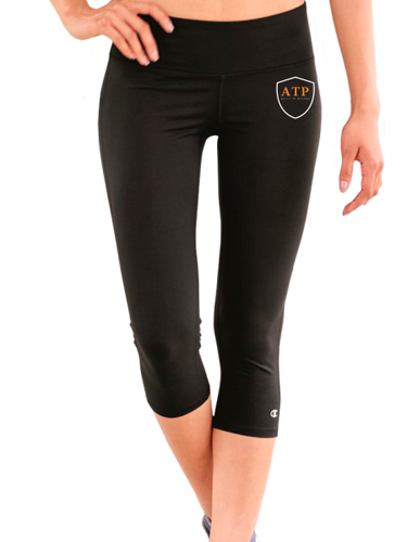 ATP Basic Women's Everyday Performance Capri Leggings