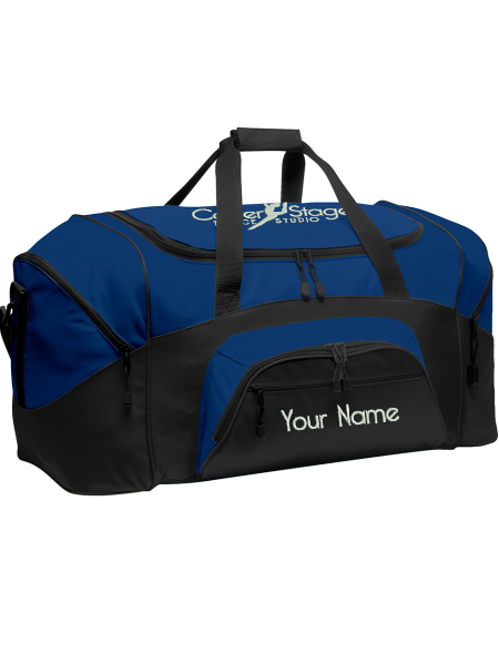 CSDS Custom Name Colorblock Sport Duffel