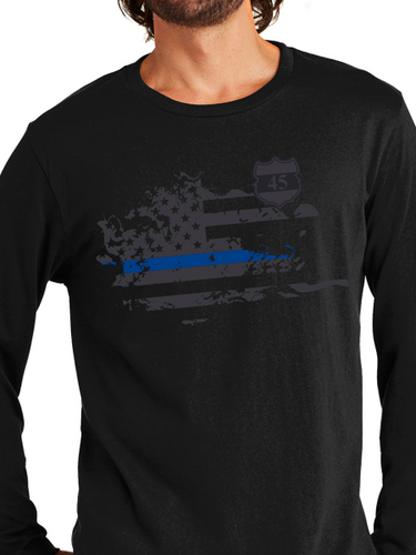 In Memory of Officer Miktarian Unisex Long Sleeve T Shirt