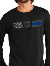 Load image into Gallery viewer, Officer Miktarian Flag Unisex Long Sleeve T Shirt