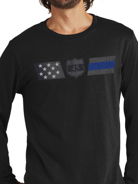 Officer Miktarian Flag Unisex Long Sleeve T Shirt