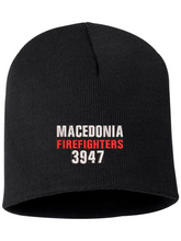 Load image into Gallery viewer, Macedonia Fire Dept Knit Beanie