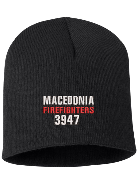 Macedonia Fire Dept Knit Beanie