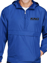 Load image into Gallery viewer, KAG Packable Quarter Zip Jacket