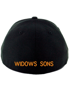 Widows Sons Skull & Compass Flexfit Hat - Black