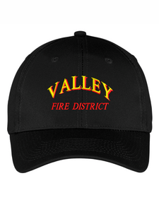 Valley Fire District Text Twill Cap